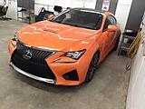 Détails du véhicule Lexus RC 2016